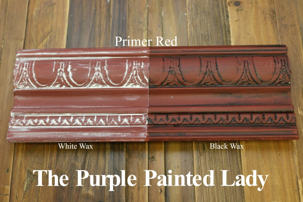 The Purple Painted Lady Primer Red Chalk Paint Annie Sloan Black White Wax