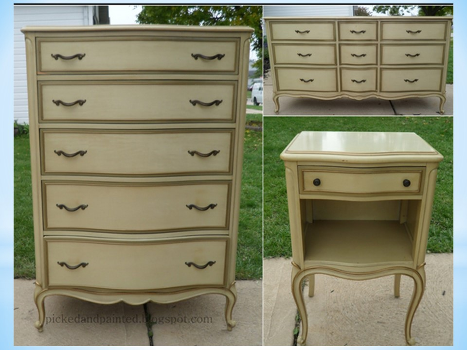 painting laminate or formica tops of dressers the purple painted lady. Black Bedroom Furniture Sets. Home Design Ideas