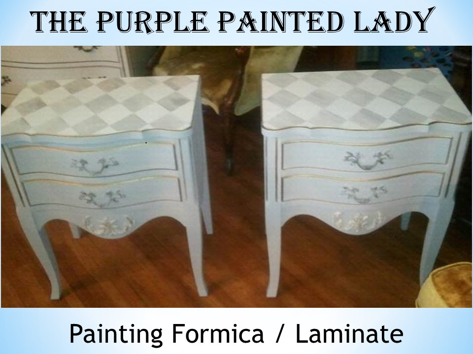 Painting Laminate Or Formica Tops Of Dressers The Purple Painted Lady