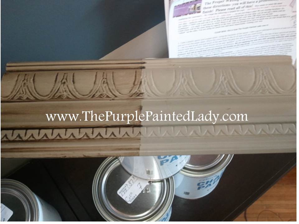 Painting Fabric Accordion Blinds with Chalk Paint® | The ... | 960 x 720 jpeg 62kB