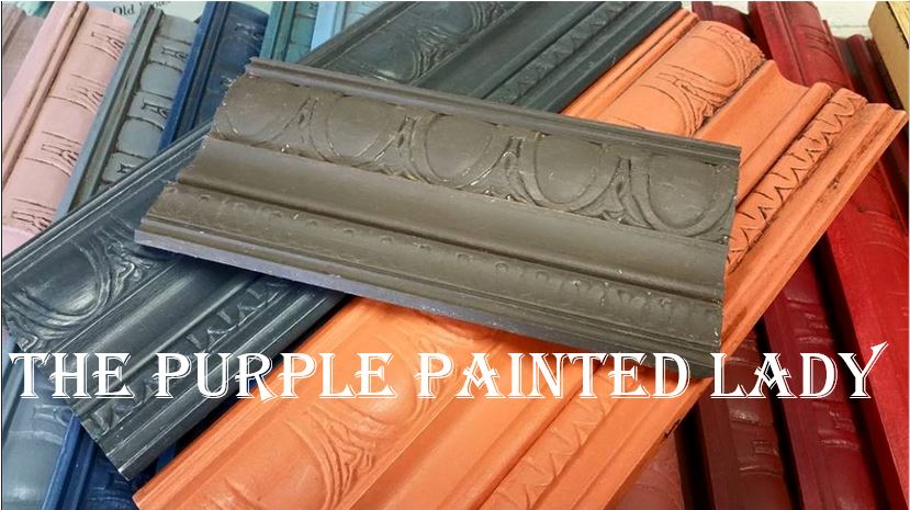 The Purple Painted Lady Brown Graphite Barcelona Orange Chalk Paint Recipe
