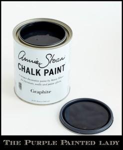 The Purple Painted Lady Graphite Chalk Paint open lid