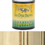 The Purple Painted Lady Van Dyke Brown Glaze General Finishes