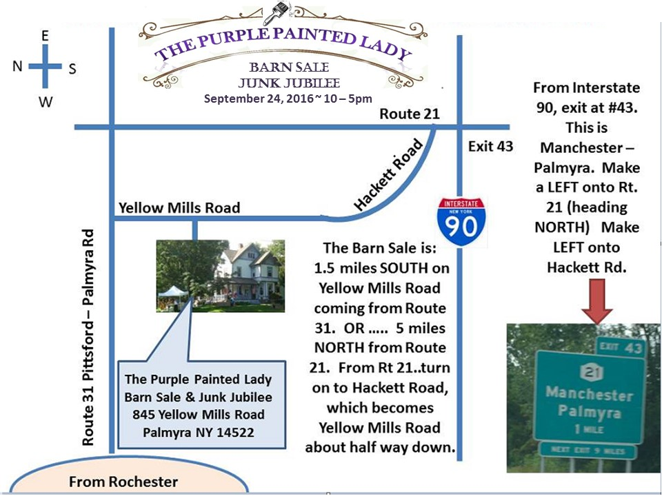 Barn MAP Sale 2016 Chalk Paint Logo The purple Painted Lady