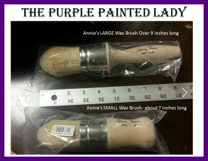 Annie Sloan Wax brushes Length The Purple Painted Lady