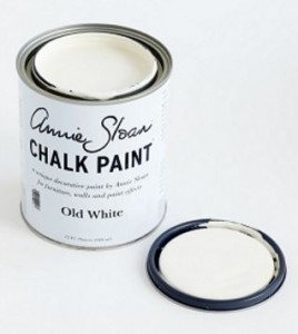 The Purple Painted Lady Old White Open Lid Quart Chalk Paint