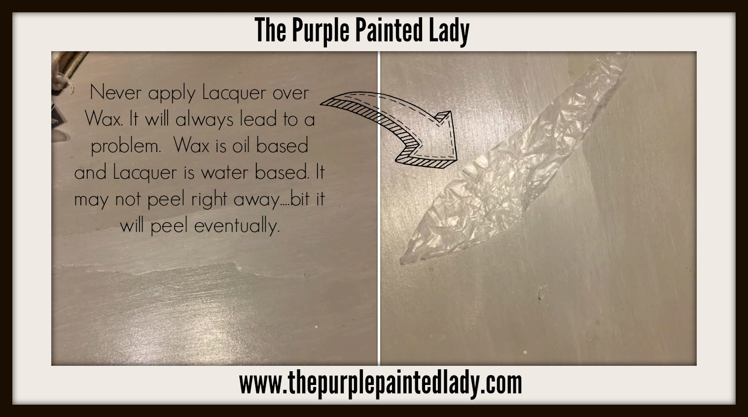 Using Annie Sloan Matte Or Gloss Lacquer Important Tips The Purple Painted Lady