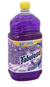 The Purple Painted Lady Fabulouso Cleaner Lacquer