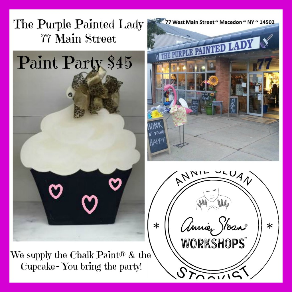 Happy Birthday Door Decor Paint Party The Purple Painted Lady April 15 2016