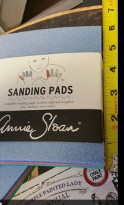 Sanding Pads Annie Sloan The Purple Painted Lady 5 inches