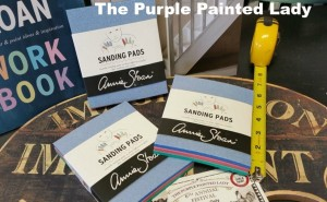 Sanding Pads at The Purple Painted Lady