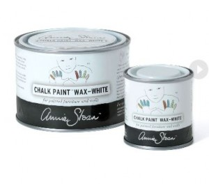 Annie Sloan WHITE WAX The Purple Painted Lady