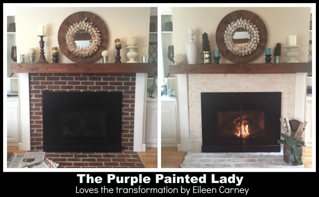 Paint Your Fireplace Mantle Or Surround With Chalk Paint
