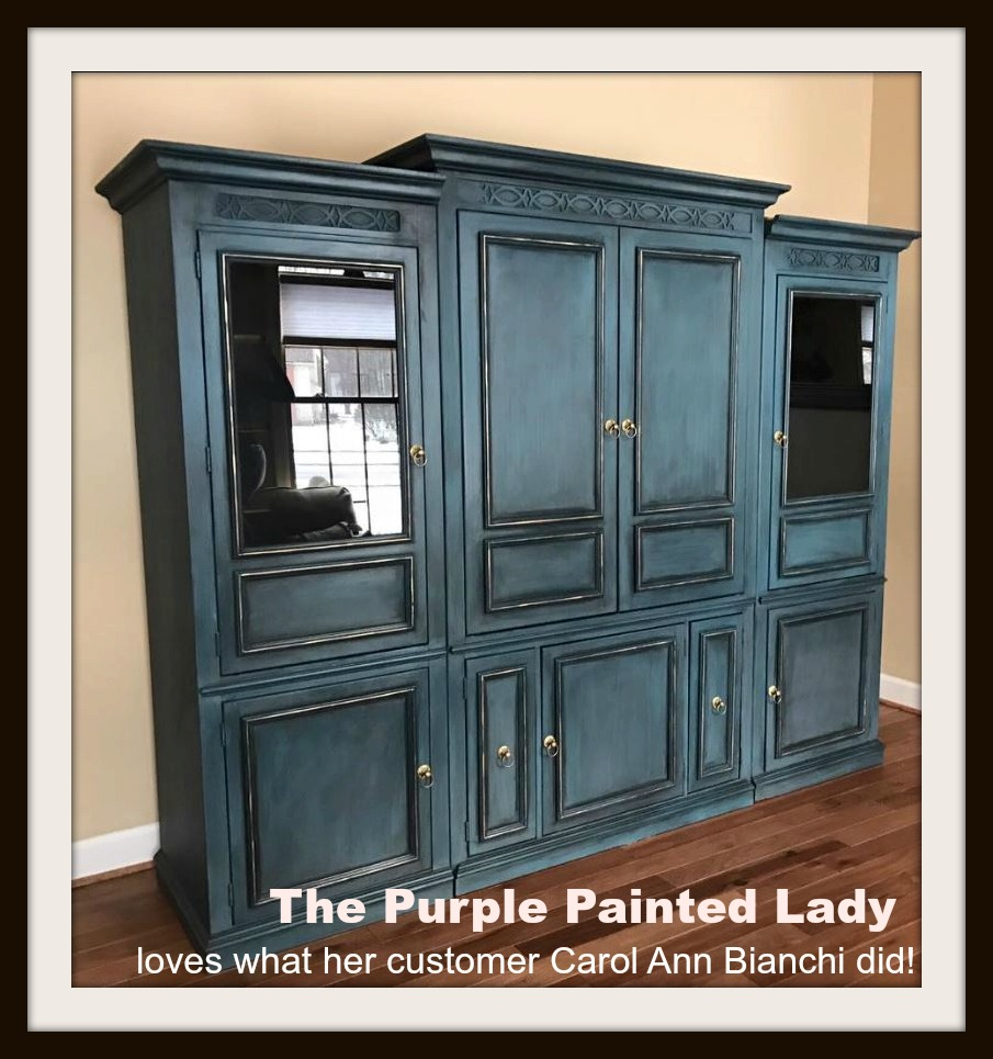 Yes, That Is Right. That Is All I (meu2026Trishu2026The Purple Painted Lady) Thinks  When I See This Piece Completed By Our Customer Carol Ann Bianchi Who Is  From ...