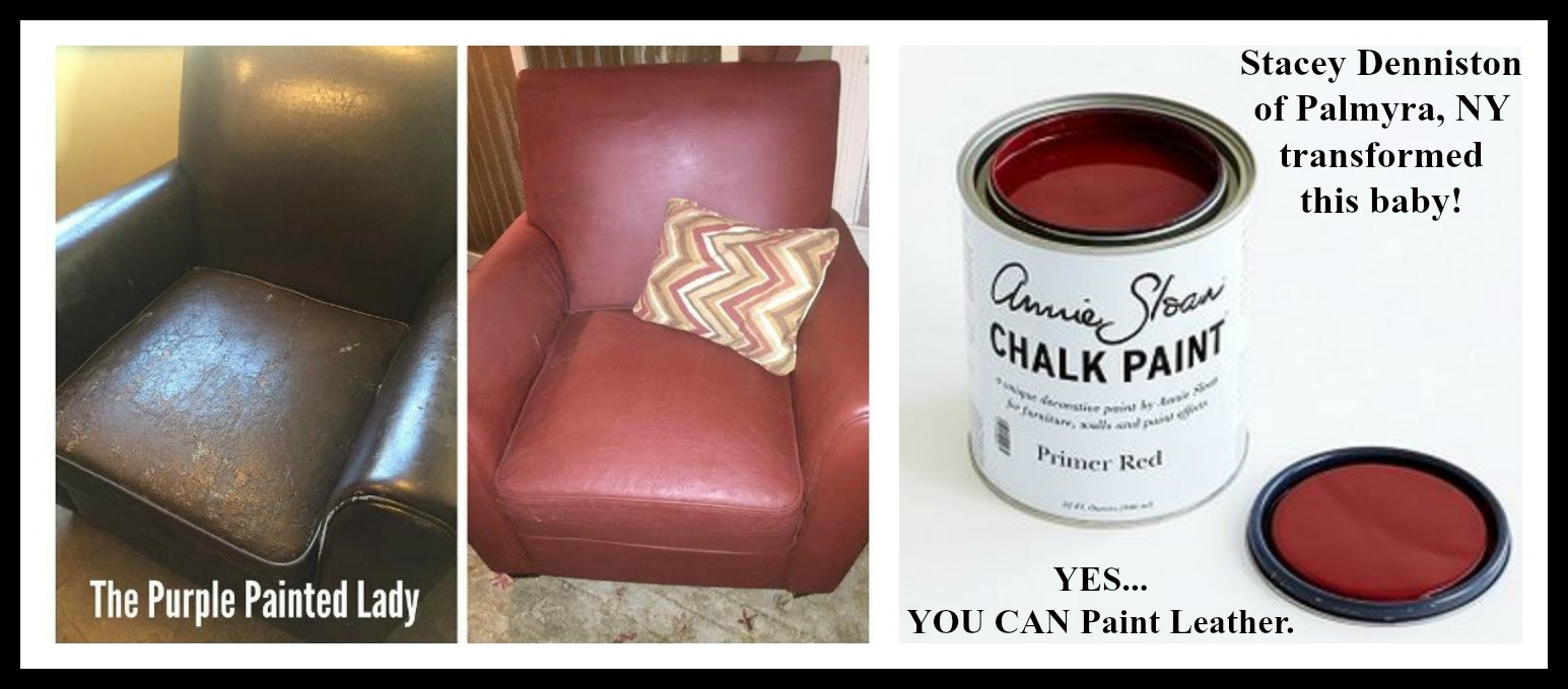 Using Chalk Paint® To Paint Your Couch Or Wing Back Chair (Fabric Or Leather )