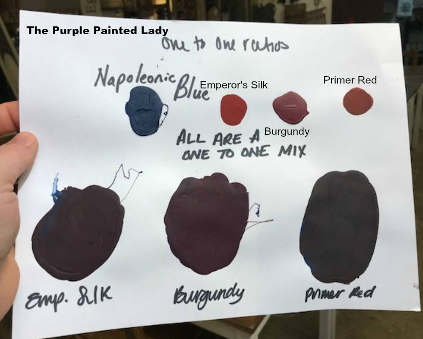 Custom Recipe The Purple Painted Lady