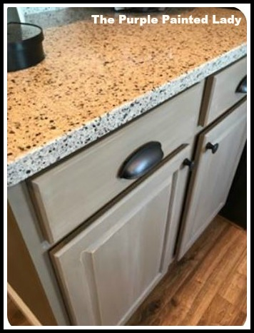 Coco Chalk Paint Kitchen Cabinet Testimonial The Purple Painted Lady