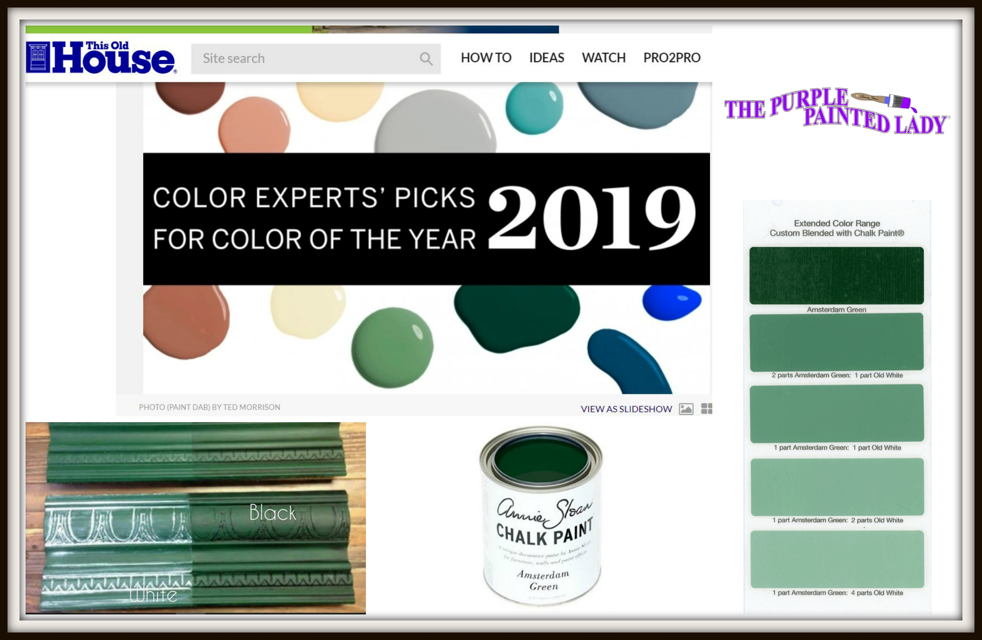 Amsterdam Green This Old House S Color Experts Picks For 2019