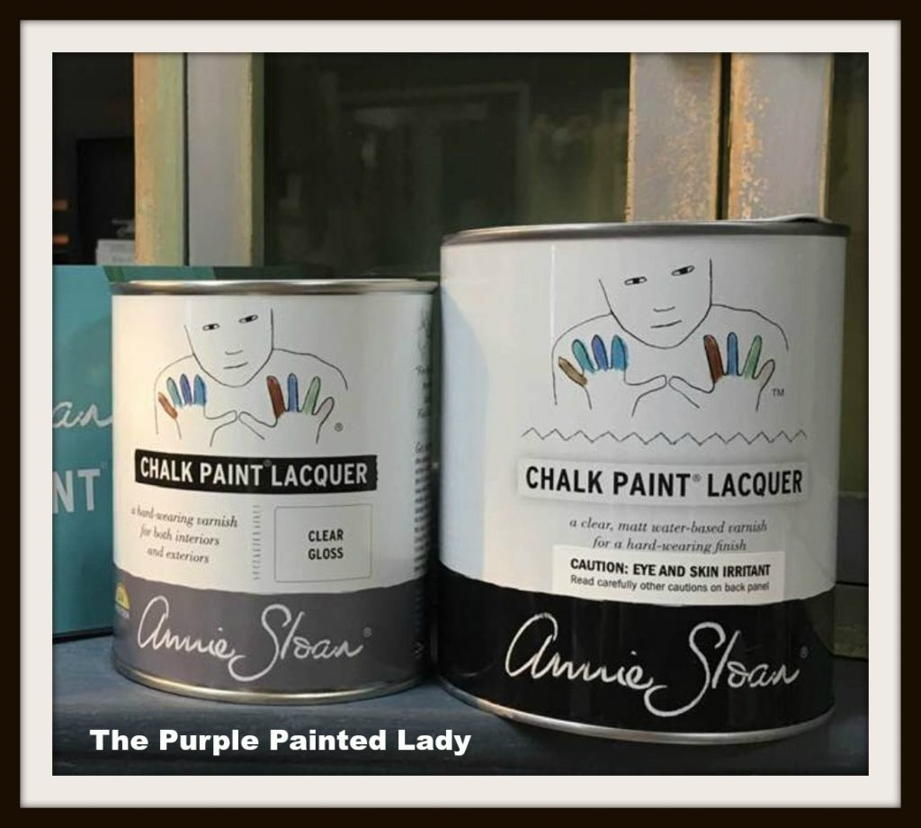 Using Annie Sloan Lacquer – Important Tips! | The Purple