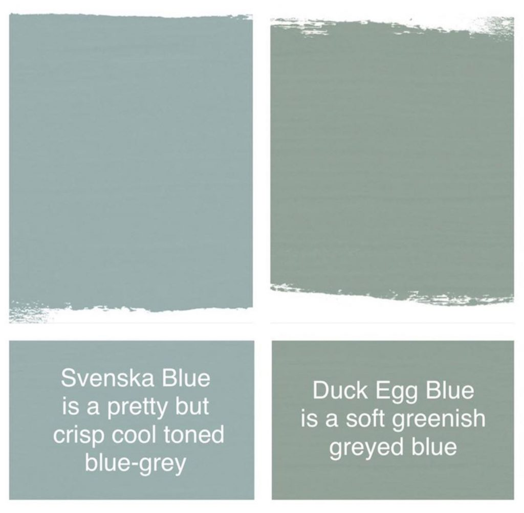 Duck Egg Blue The Purple Painted Lady