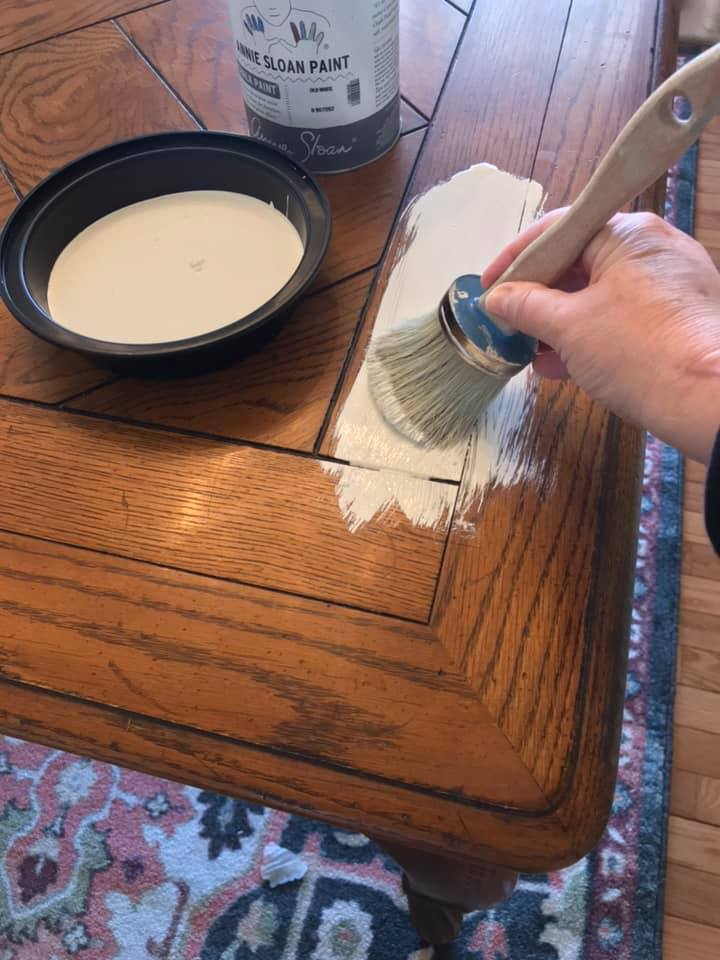 Painting A Dining Room Set With Chalk Paint The Purple Painted Lady